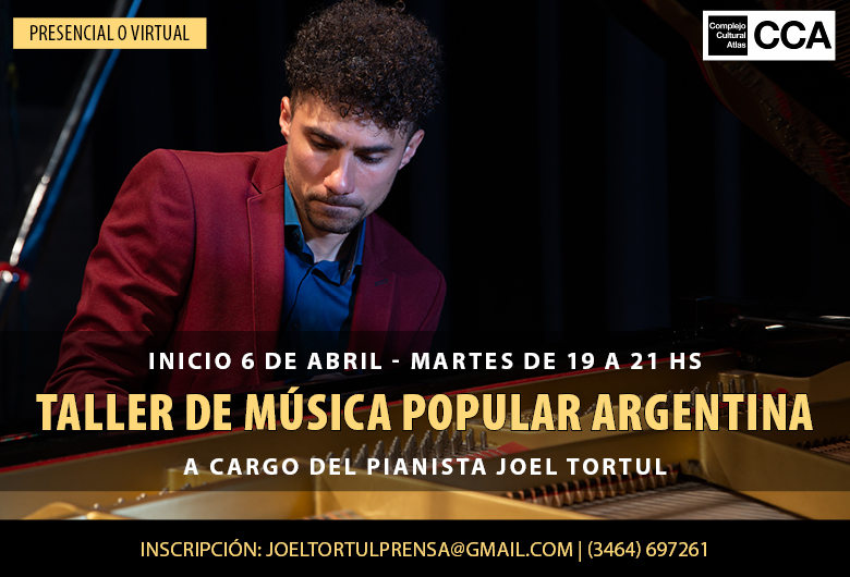 Taller de Música Popular Argentina con Joel Tortul