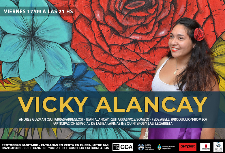 Concierto de Vicky Alancay