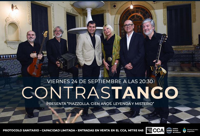 Contrastango presenta «Piazzolla. Cien años. Leyenda y misterio»
