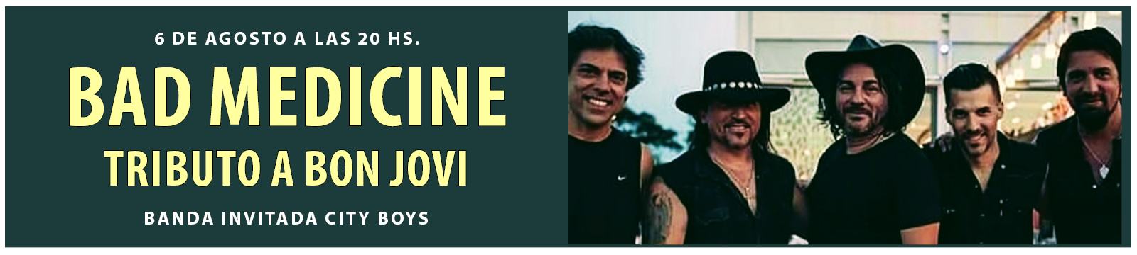 Bad Medicine, tributo a Bon Jovi