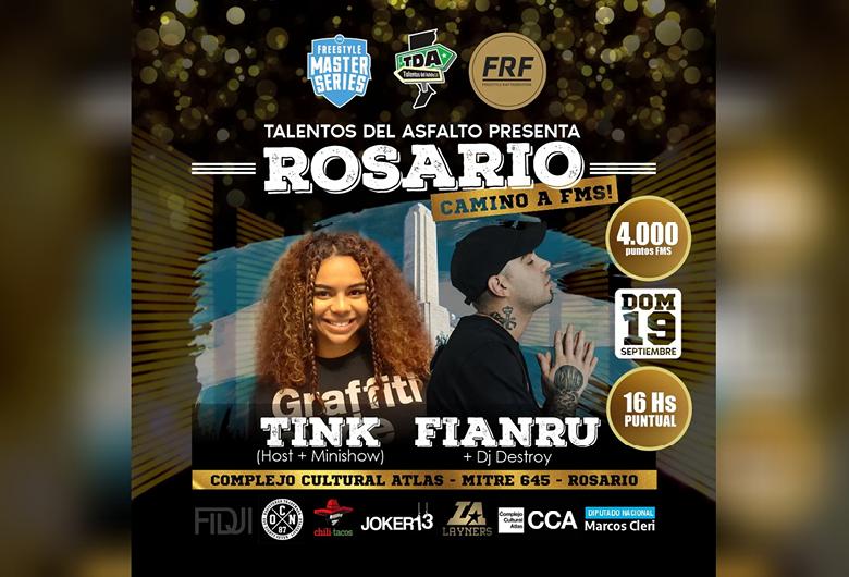 Talentos del Asfalto presenta: Rosario camino a FMS